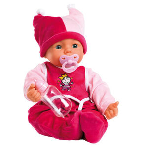 Bayer Design Puppe Hello Baby, mit Funktionen