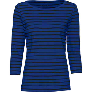 Adagio Damen 3/4 -Arm Streifenshirt