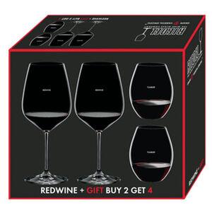 Riedel Rotweinglas, 4-er Set, keine Angabe