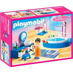 PLAYMOBIL® Dollhouse Badezimmer 70211
