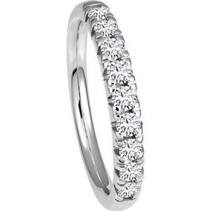 Vandenberg Damen Diamantring, 585er Weißgold, 56, weißgold