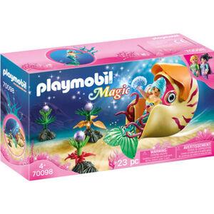 PLAYMOBIL® Meerjungfrau mit Schneckengondel 70098
