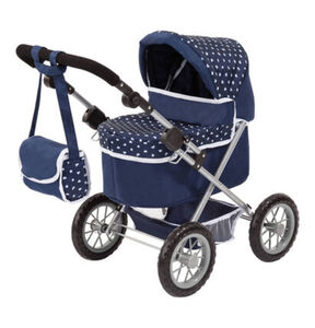 Bayer Design Puppenwagen Trendy, Blau