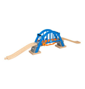 BRIO Smart Tech Hebebrücke, blau
