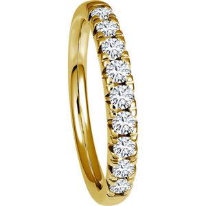 Vandenberg Damen Diamantring, 585er Gelbgold, 60, gold