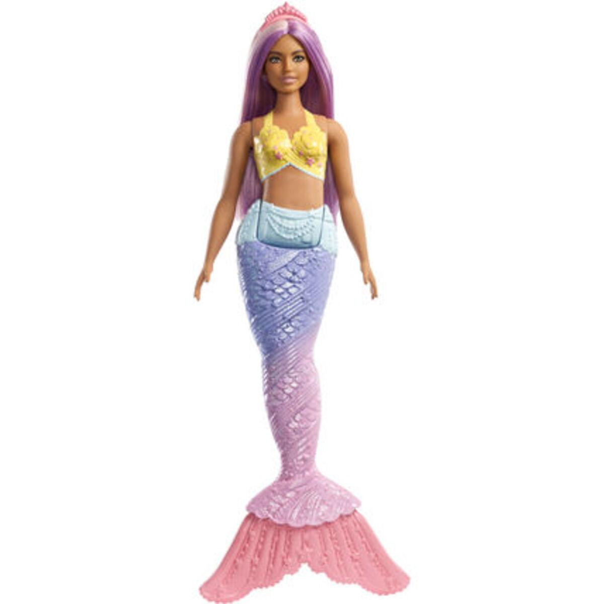 Bild 1 von Barbie Dreamtopia Meerjungfrau, lila Haare