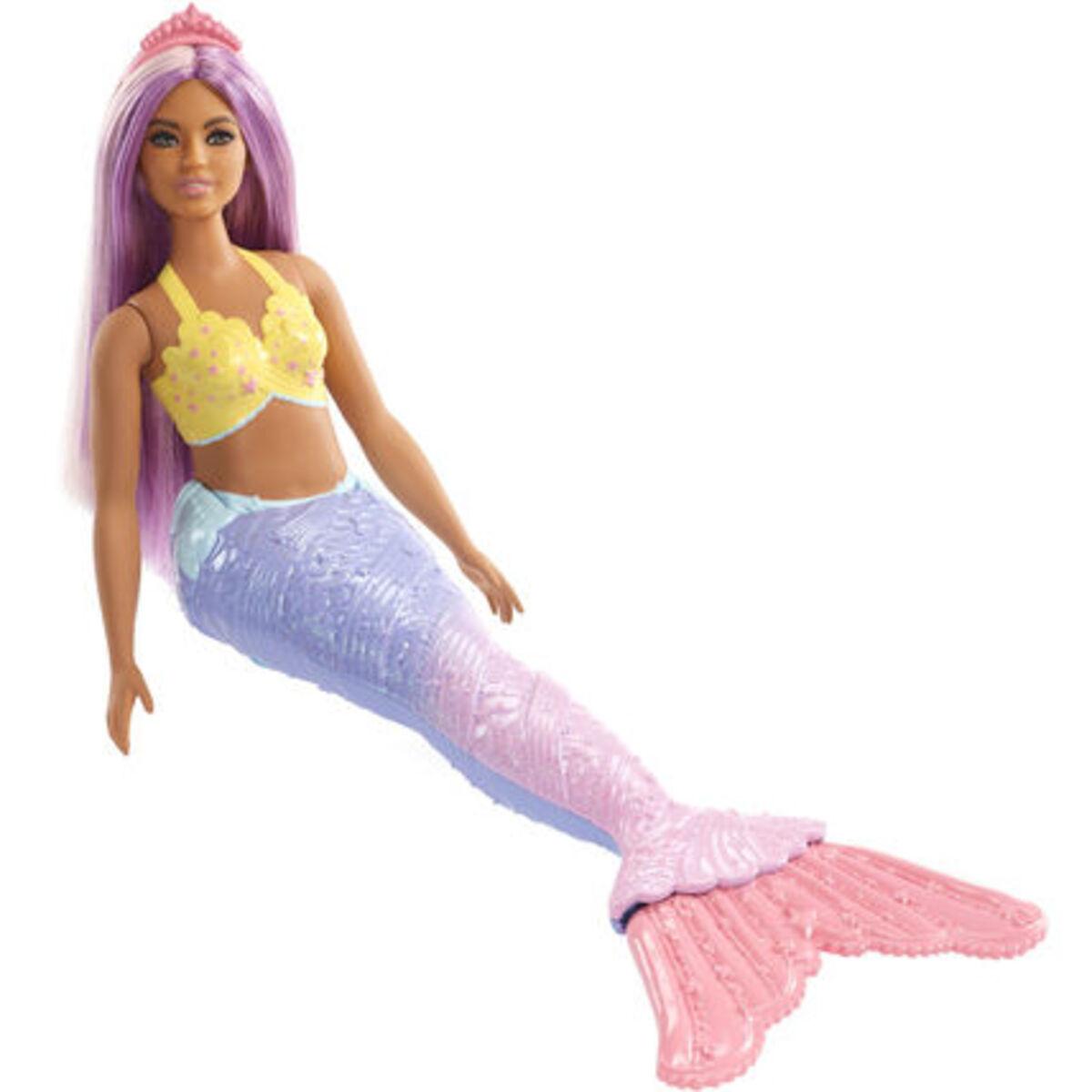 Bild 4 von Barbie Dreamtopia Meerjungfrau, lila Haare