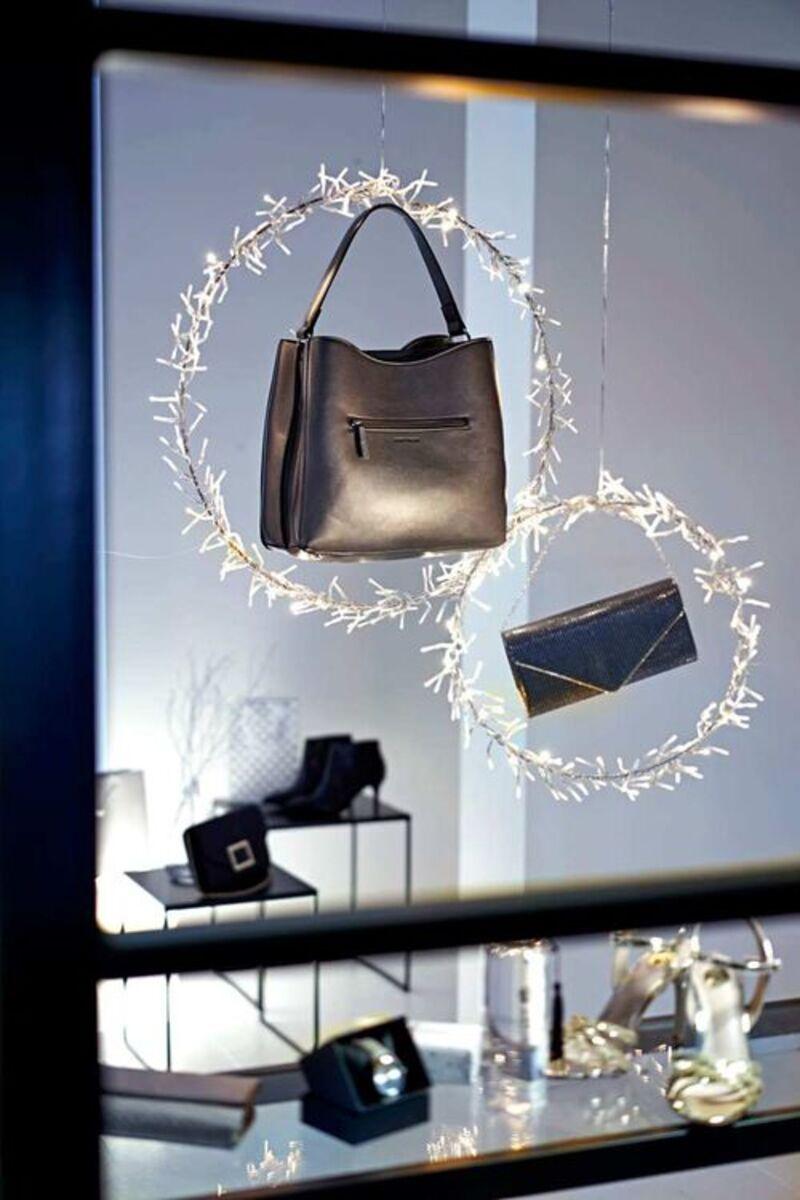 Bild 2 von Pureday LED-Ring-Set, 2-tlg. 'Twinkle', Silberfarben, silberfarben