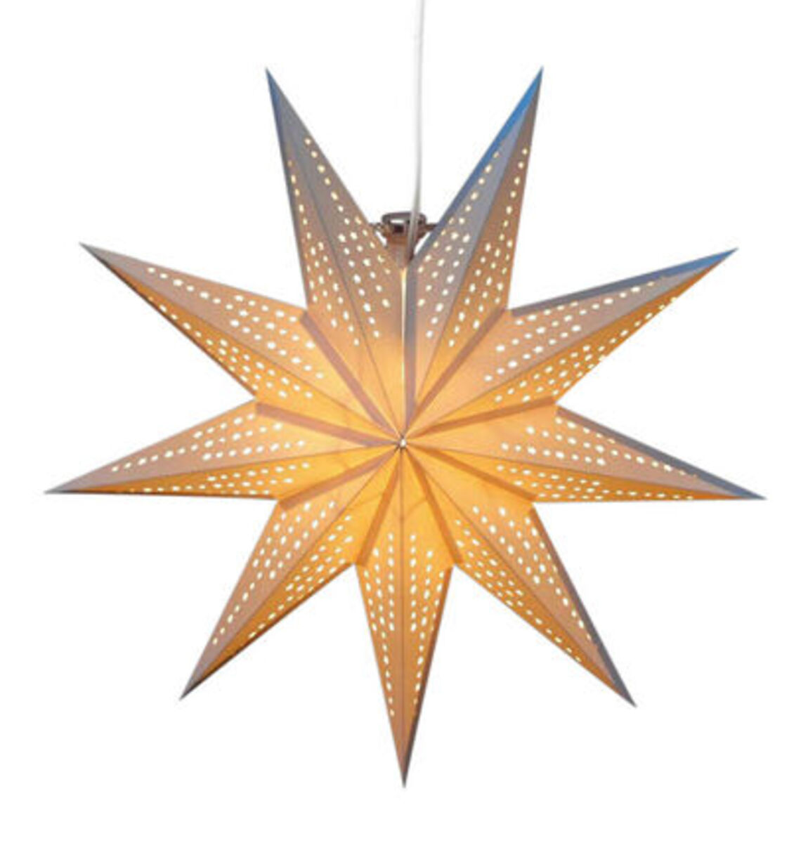 """Bild 1 von Galeria Selection Weihnachtsdekoration """"Papierstern"""", 45 cm, hängend, weiß"""