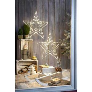 Pureday LED-Stern 'Mobilé', Weiß, weiß