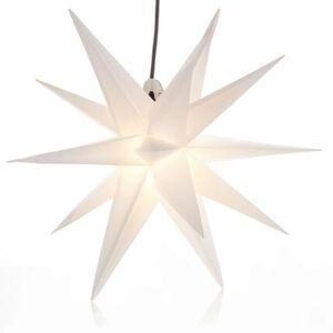 Pureday Outdoor-Leuchtstern, Weiß, Ø 60 cm, weiß
