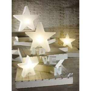 Pureday Leucht-Objekt 'Stern Shiny', weiß, Ø 40 cm, weiß