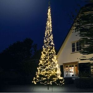 Pureday LED-Lichterbaum 'Fahnenmast', klein, standard