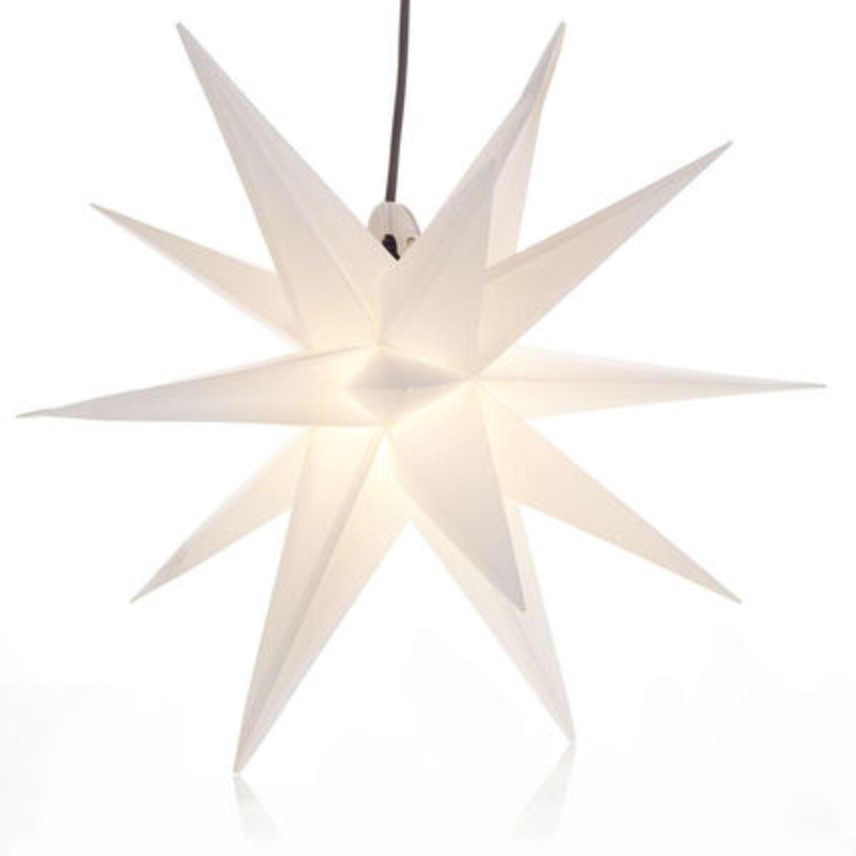 Bild 1 von Yorn Home Outdoor-Leuchtstern, Weiß, Ø 50 cm, weiß
