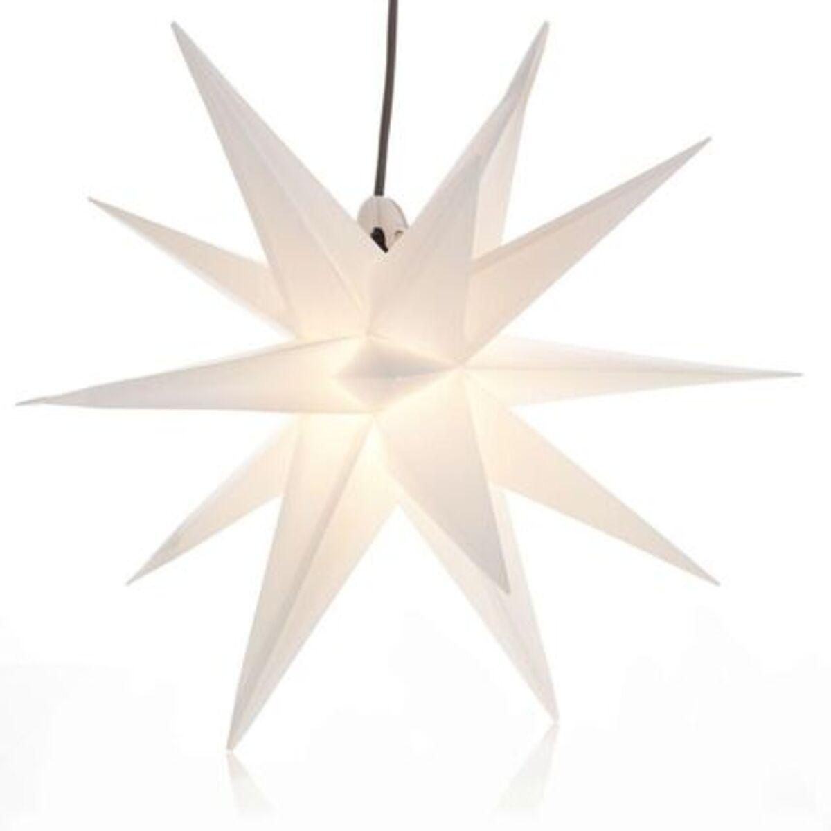 Bild 4 von Yorn Home Outdoor-Leuchtstern, Weiß, Ø 50 cm, weiß