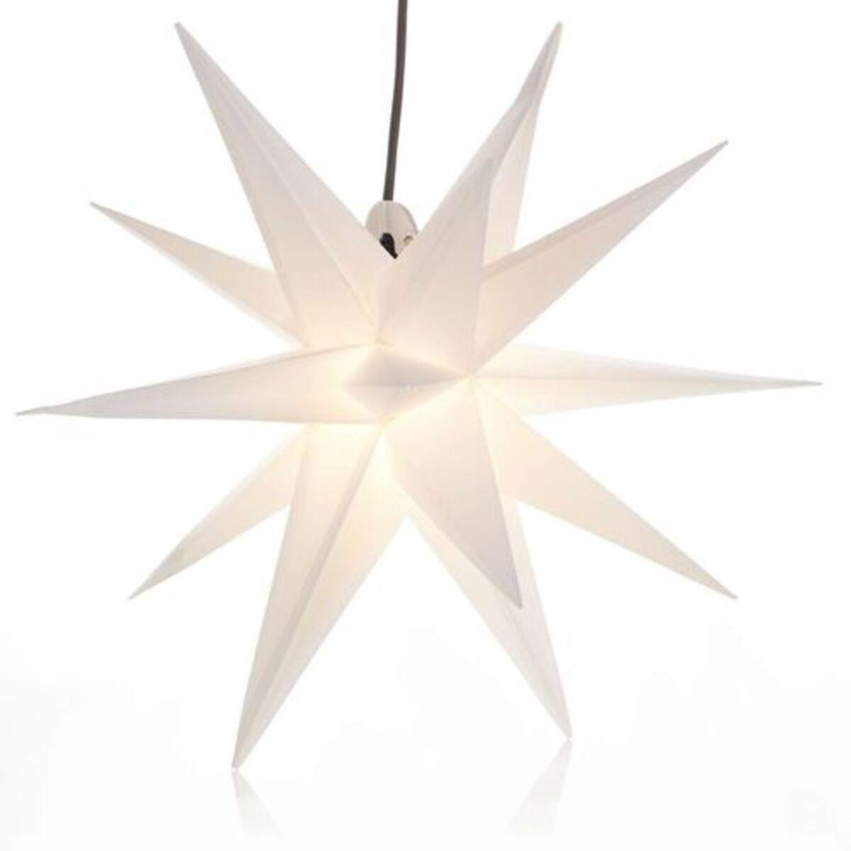Bild 5 von Yorn Home Outdoor-Leuchtstern, Weiß, Ø 50 cm, weiß