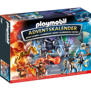 PLAYMOBIL® Adventskalender Kampf um den magischen Stein 70187