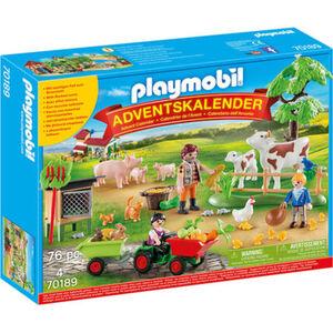 PLAYMOBIL® Adventskalender Auf dem Bauernhof 70189