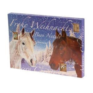 Pureday Schmuck-Adventskalender 'Pferde', blau