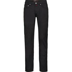 Pierre Cardin Herren 5-Pocket-Hose, schwarz, W32/L32, W32/L32