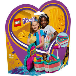 LEGO® Friends 41384 Andreas sommerliche Herzbox