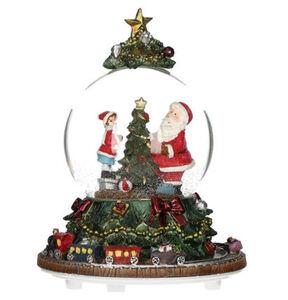 """Galeria Selection Schneekugel """"Weihnachten"""", mit Musik, 19 cm, mehrfarbig"""