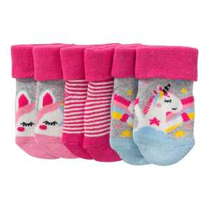 Baby-Frottee-Socken, 3er Pack