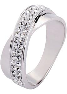 Ring veredelt mit Swarovski® Kristallen