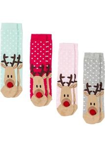 Socken (4er-Pack) mit Geschenkkarte