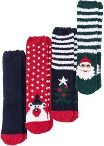 Kuschelsocken Weihnachten (4er-Pack)