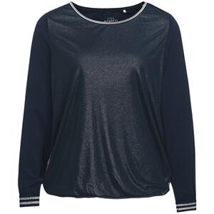 Damen Blusenshirt mit Netz-Material
