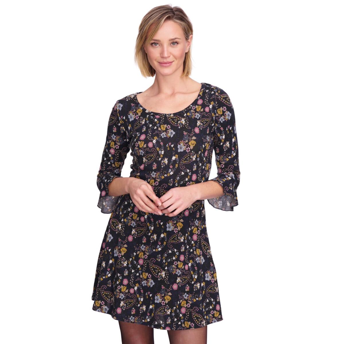 Bild 2 von Damen Kleid im floralen Dessin