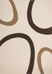 Flachflor-Teppich USA - Dallas Elfenbein, 120x170cm