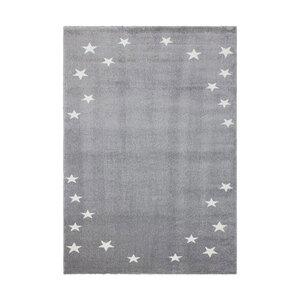 """Kinder-Design-Teppich """"Seychelles"""" - Cascade Silber, 120x170cm"""