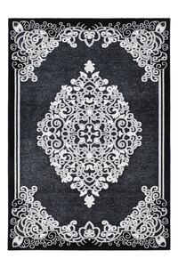 """Kurzflorteppich """"Turkey"""" - Amasya Schwarz, 120x170cm"""