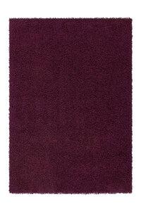 "Langflor-Teppich ""Norway"" - Oslo Violett, 120x170cm"