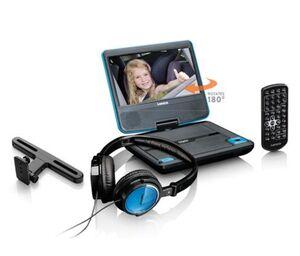 """Lenco DVP-710, tragbarer 7""""-DVD-Player"""