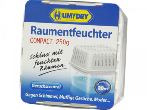"""Humydry              Raumentfeuchter """"Compact 250g"""""""