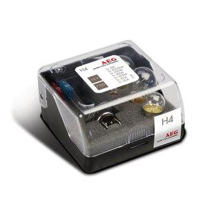 Autolampe H4 Glühlampenbox 7tlg