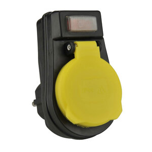 Außensteckdosen-Zwischenstecker, mit Ein⁄Aus-Schalter
