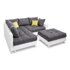 BOOOM Ecksofa inkl. Hocker Antonia