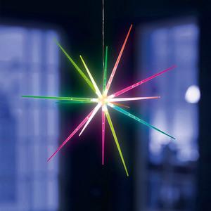 I-Glow LED Acryl-Sternleuchte, Farbwechsel