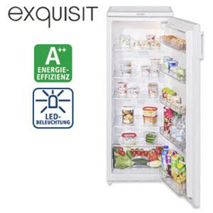 Kühlschrank KS 320-1 A++ • 242 Liter Nutzinhalt • Maße: H 143,4 x B 55,0 x T 54,2 cm • Energie-Effizienz A++ (Spektrum: A+++ bis D) (Abb. ähnl. Modell)