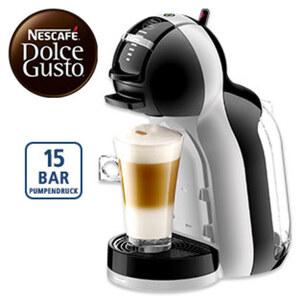 Kaffee-Kapselautomat EDG 155.BG MiniMe • höhenverstellbare Abstellfläche • Energiesparmodus