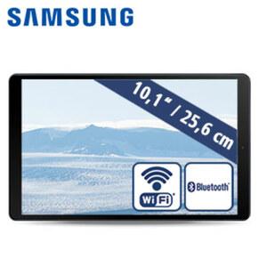 Galaxy Tab A T510N 10.1 (2019) 64 GB • Octa-Core-Prozessor (1,6 GHz + 1,8 GHz) • 2 Kameras (5 MP/8 MP) • 32-GB-Flashspeicher • microSD™-Slot bis zu 512 GB • Android™ 9.0