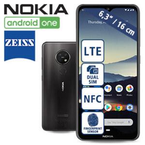 Smartphone 7.2 • Dreifach-Hauptkamera (48 MP/ + 5 MP + 8 MP) mit ZEISS-Optik • 20 MP Frontkamera • 4-GB-RAM, 64-GB-interner Speicher • microSD™-Slot bis zu 512 GB • Entsperren durch Gesic