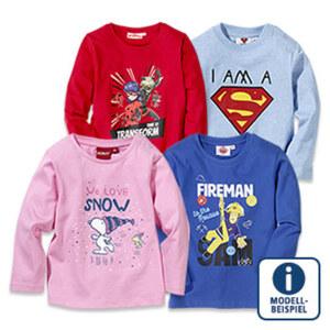 Baby- oder Kinder-Langarmshirt, versch. Lizenzen, Größe: 68 - 164