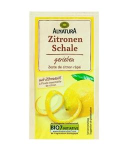 Zitronenschale, gerieben