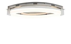 LED Deckenlampe Chrom, Blende oval