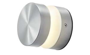 LED-Außenleuchte, 1-flammig, Edelstahl